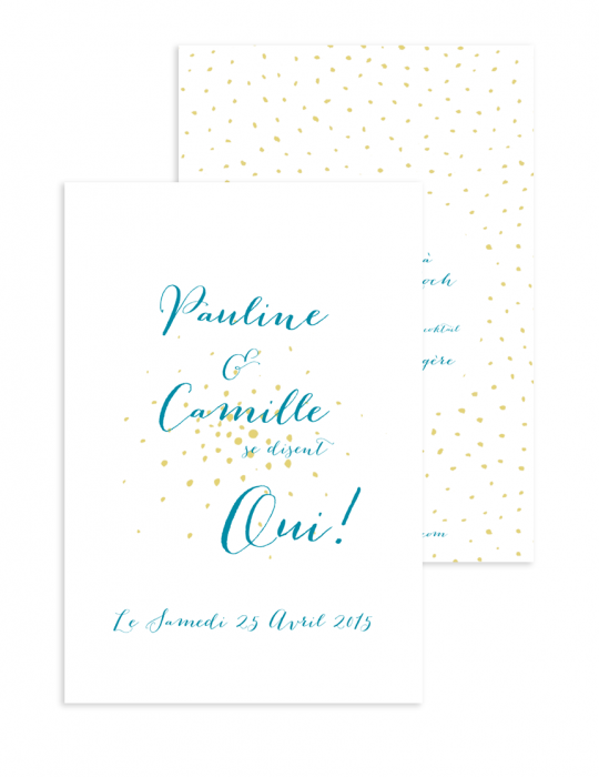 Faire part Collection Firework