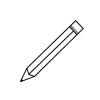 icone crayon
