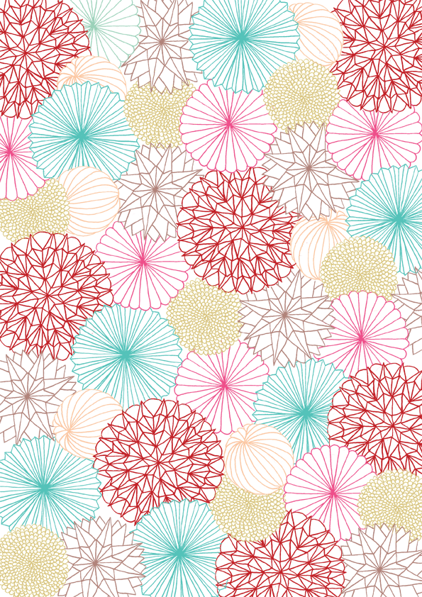 Papier d coration mushaboom septembre papeterie - Papier adhesif decoratif ...