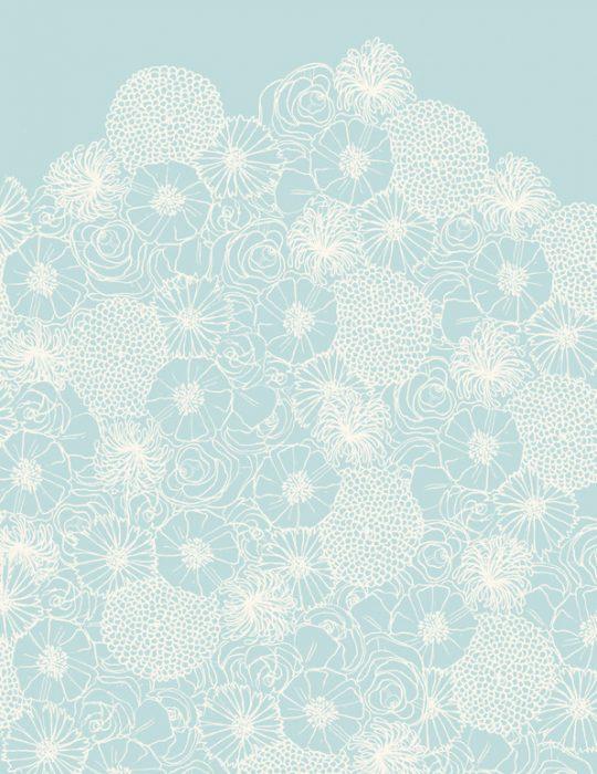 papier decoration boheme vert