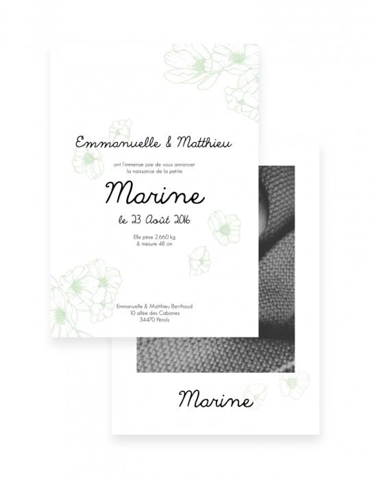 Faire-Part-Naissance-Collection-Cerise-mint-Septembre-Papeterie
