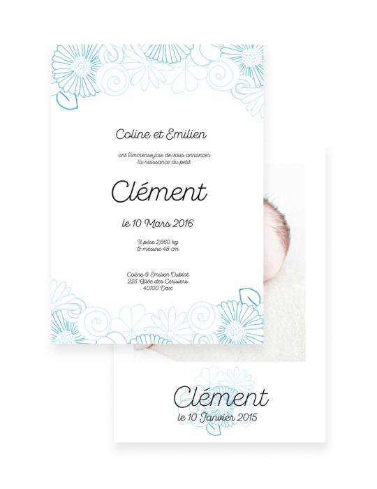 Faire-Part-Naissance-Collection-Printemps-bleu-Septembre-Papeterie