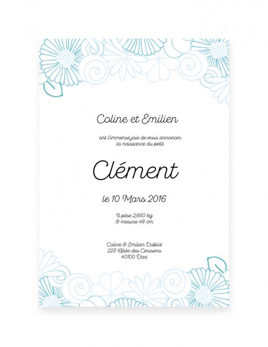 Recto-faire-Part-Naissance-Collection-Printemps-bleu-Septembre-Papeterie