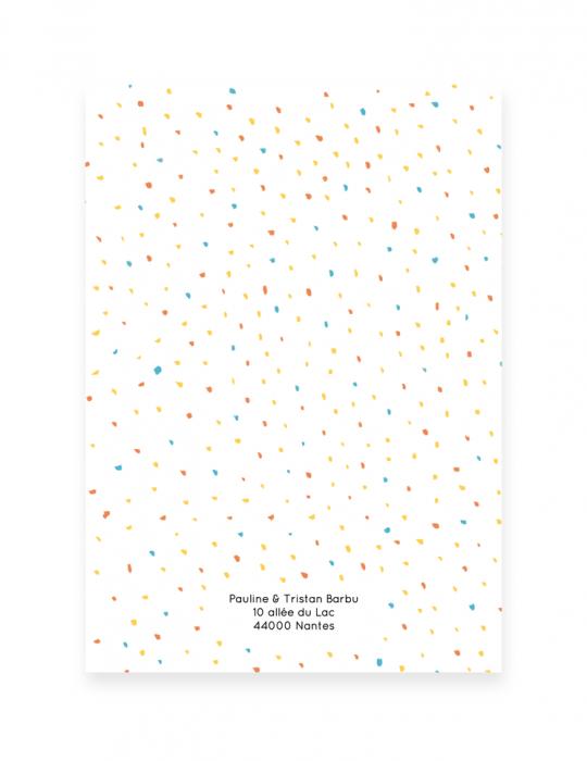 Versoo-faire-Part-Naissance-Collection-Confettis-bleu-jaune-rouge-Septembre-Papeterie