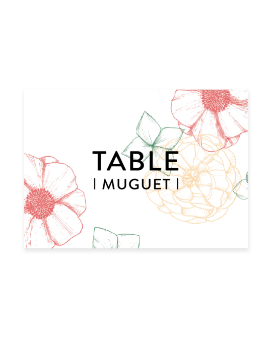 Les Noms de Table