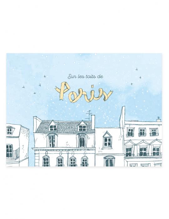 recto-carte-postale-sur-les-toits-de-paris