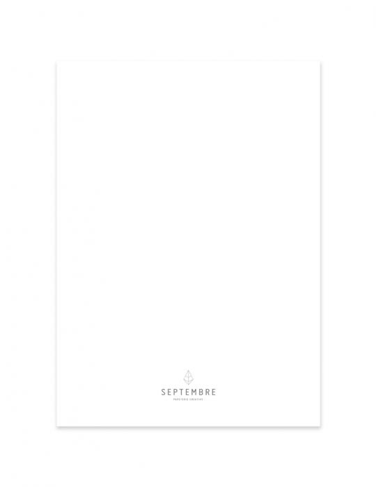 Carte Septembre Papeterie