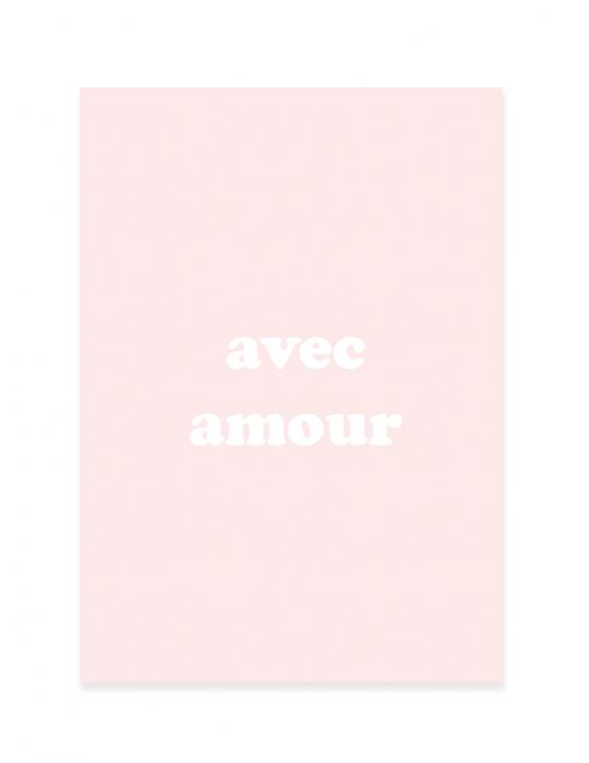 Carte de Noël Septembre Papeterie - Amour