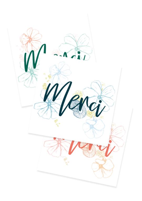 Les Cartes de Remerciement Naissance